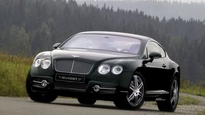 2008 Bentley Continental GT & GTC by Mansory 2