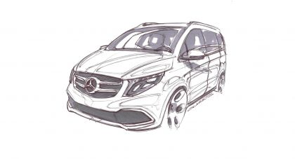 2019 Mercedes-Benz V-klasse 53