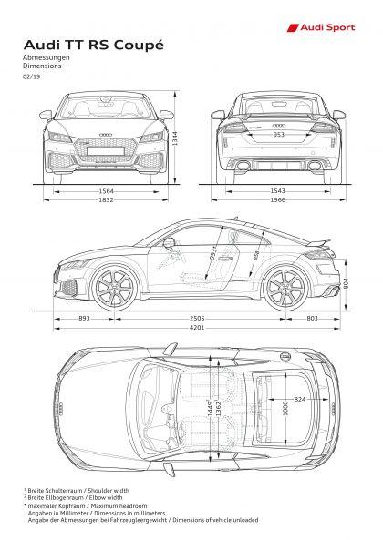2020 Audi TT RS coupé 62