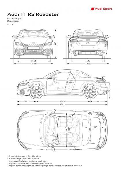 2020 Audi TT RS roadster 25