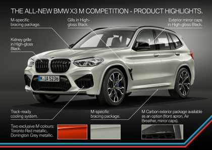 2020 BMW X3 ( F97 ) M Competition 82