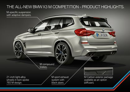 2020 BMW X3 ( F97 ) M Competition 83
