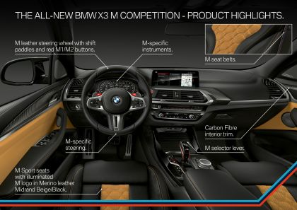 2020 BMW X3 ( F97 ) M Competition 84