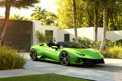 2019 Lamborghini Huracán evo spyder 21