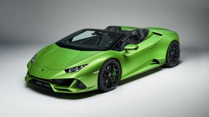 2019 Lamborghini Huracán evo spyder 4