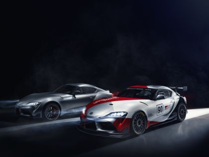 2019 Toyota GR Supra GT4 concept 2