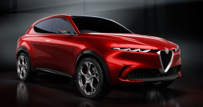 2019 Alfa Romeo Tonale concept 1