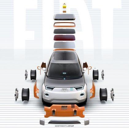 2019 Fiat Concept Centoventi 13