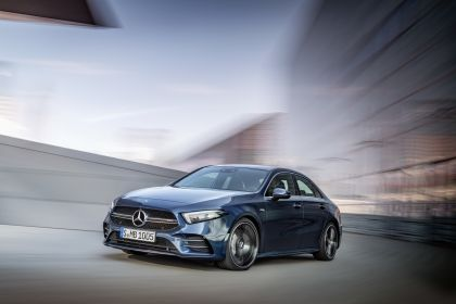2020 Mercedes-AMG A 35 4Matic saloon 1