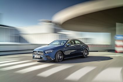 2020 Mercedes-AMG A 35 4Matic saloon 2