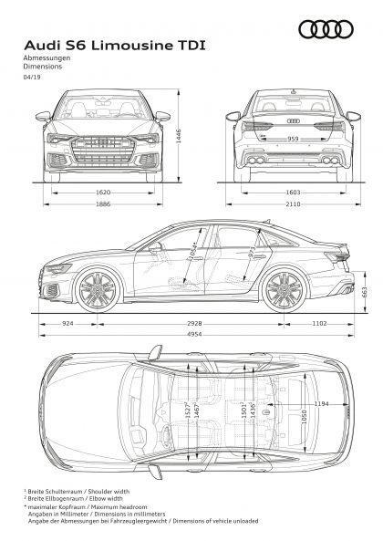 2020 Audi S6 Sedan TDI 18