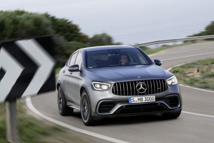 2020 Mercedes-AMG GLC 63 S 4Matic+ coupé 3