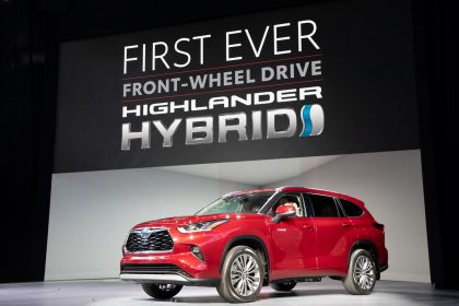 2020 Toyota Highlander Platinum AWD 10