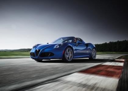 2020 Alfa Romeo 4C Spider Italia 1