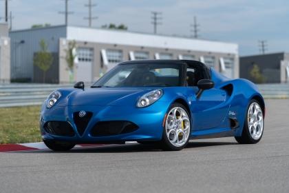 2020 Alfa Romeo 4C Spider Italia 2