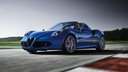 2020 Alfa Romeo 4C Spider Italia 9
