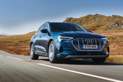 2019 Audi e-Tron - UK version 55