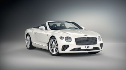 2019 Bentley Continental GT convertible Bavaria Edition by Mulliner 8