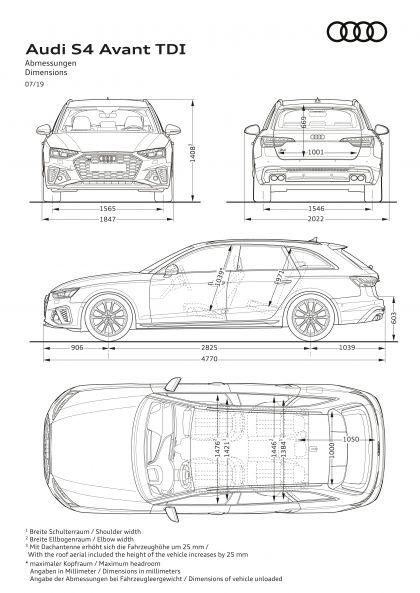 2019 Audi S4 Avant TDI 38
