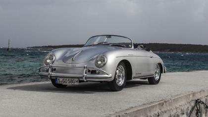 1957 Porsche 356A 1600 S Speedster 7