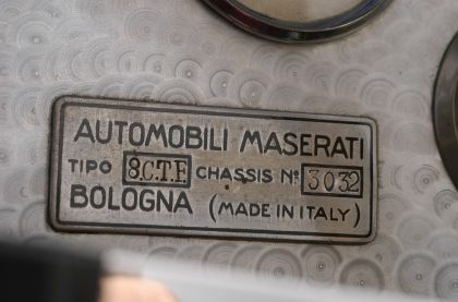 1939 Maserati 8CTF - Indianapolis winner 8