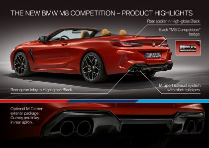 2019 BMW M8 ( F92 ) Competition convertible 48