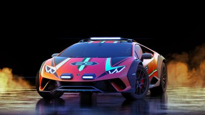 2019 Lamborghini Huracán Sterrato concept 1