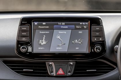 2019 Hyundai i30 Fastback N - UK version 147