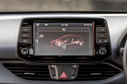 2019 Hyundai i30 Fastback N - UK version 155