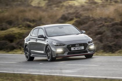2019 Hyundai i30 Fastback N - UK version 216