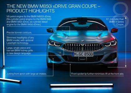 2020 BMW M850i ( G16 ) xDrive Gran Coupé 148