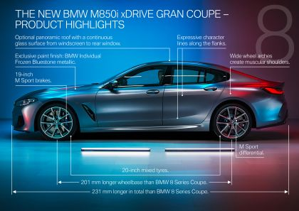 2020 BMW M850i ( G16 ) xDrive Gran Coupé 149