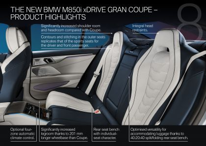 2020 BMW M850i ( G16 ) xDrive Gran Coupé 152