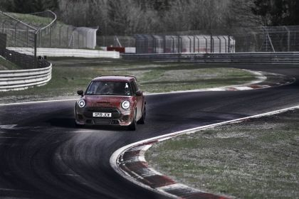 2019 Mini John Cooper Works GP - prototype test at Nürburgring 8
