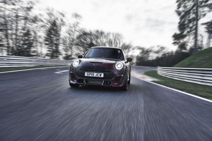 2019 Mini John Cooper Works GP - prototype test at Nürburgring 10