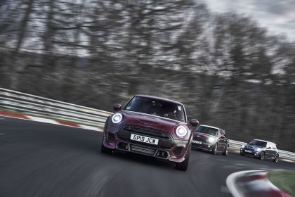 2019 Mini John Cooper Works GP - prototype test at Nürburgring 42