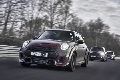 2019 Mini John Cooper Works GP - prototype test at Nürburgring 44