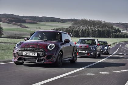 2019 Mini John Cooper Works GP - prototype test at Nürburgring 53