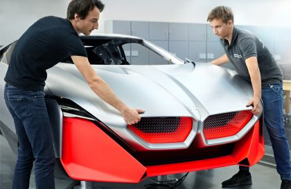 2019 BMW Vision M Next concept 74