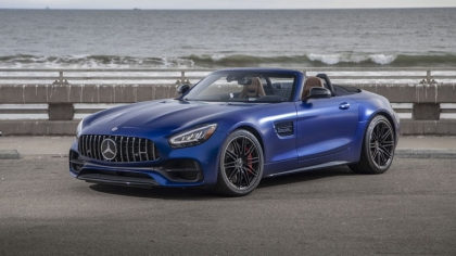 2020 Mercedes-AMG GT C roadster - USA version 6