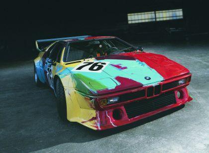 1979 BMW M1 ( E26 ) Procar Art Car by Andy Warhol 3