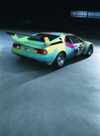 1979 BMW M1 ( E26 ) Procar Art Car by Andy Warhol 5