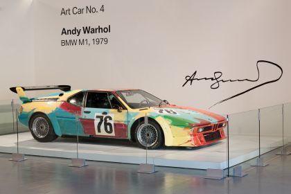 1979 BMW M1 ( E26 ) Procar Art Car by Andy Warhol 14