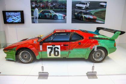 1979 BMW M1 ( E26 ) Procar Art Car by Andy Warhol 17
