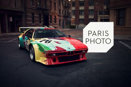 1979 BMW M1 ( E26 ) Procar Art Car by Andy Warhol 20