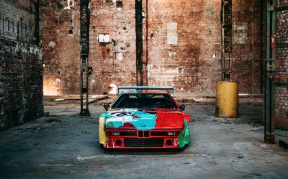 1979 BMW M1 ( E26 ) Procar Art Car by Andy Warhol 34