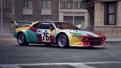 1979 BMW M1 ( E26 ) Procar Art Car by Andy Warhol 9
