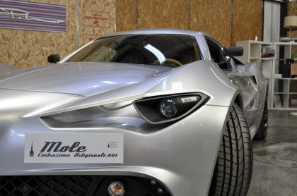 2018 Mole Costruzione Artigianale 001 ( based on Alfa Romeo 4C ) 43