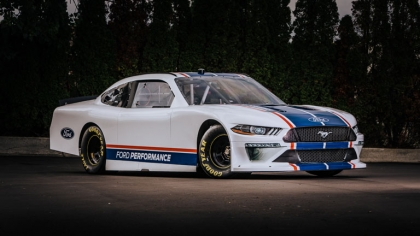 2019 Ford Mustang NASCAR Xfinity series 5