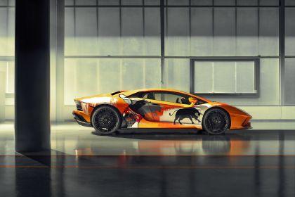 2019 Lamborghini Aventador S by Skyler Grey 8